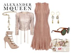 Alexander McQueen by freida-adams on Polyvore featuring polyvore, fashion, style, Alexander McQueen and clothing