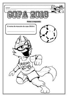 Copa 2018 mascote.