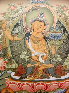 Manjushri Bodhisattva of Wisdom