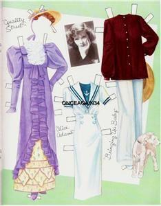 Katharine Hepburn paper doll | Original Uncut Katharine Hepburn Paper Dolls by Marilyn Henry RARE Set ...