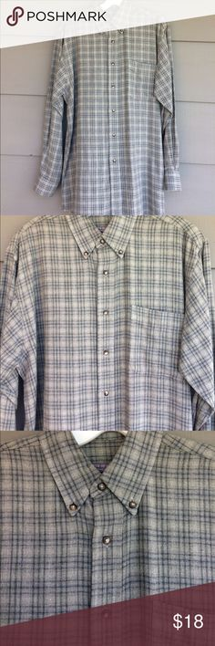 Forsythe of Canada men's flannel shirt Forsythe of Canada shirtmakers since 1903. The softest lightweight cotton flannel ever.  Beautiful high quality shirt.  Men's size small forsythe of canada Shirts Casual Button Down Shirts