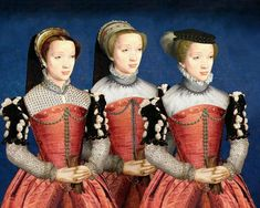Mode années 1550
