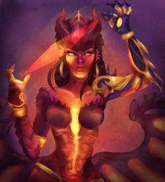Dragon Queen by elfm.deviantart.com on @DeviantArt - More at https://pinterest.com/supergirlsart #symmetra #overwatch #fanart