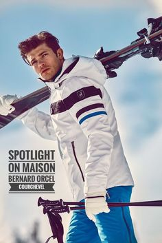 Maison Bernard Orcel Courchevel founded in is a high fashion boutique offering also the finest selection ready-to-wear skiwear for men & women. Snow Fashion, Mens Fashion, Mode Au Ski, Interview Style, Casual Outfits, Men Casual, Ski Gear, Ski Season, Fifties Fashion