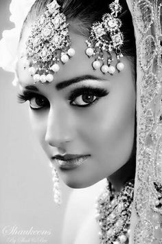 Pakistani beauty in form of a bride