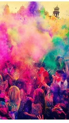 58615aaff Have your own HOLI ONE Festival. Being Rocket dust proof