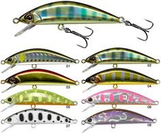 SINKING LURE ILLEX TRICOROLL 47 HW - 4.7CM                                                                                                                                                     More