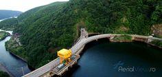 Fotografie cu drona - Brajul Tarnita, Cluj, construit in anul 1974. #fotografiidrone #aerialview #filmaridrone Aerial View, River, Outdoor, Outdoors, Outdoor Living, Garden, Rivers