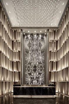 Hotel Design Architecture, Hotel Lobby Design, Hotel Reception Desk, Lobby Reception, Spa Interior, Lobby Interior, Contemporary Interior, Modern Interior Design, Meeting Room Hotel