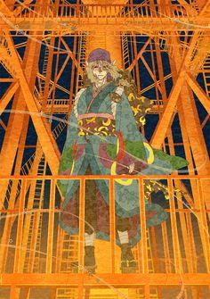 by入江いお    inkstone:    I still lust for that futuristic/cyberpunk!Mononoke fic, you know.