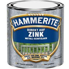 750ml Hammerite Direkt auf Zink braun
