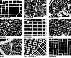Image from Urban fabric/form comparison: Spacing Toronto by Michael Surtees, via Flickr
