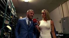 Watch Conor McGregor's exclusive post-fight interview with BT Sport