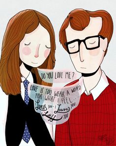 """Lurve, Loave, Luff Limited Edition Print for """"The Humorist"""" Woody Allen Tribute show."""