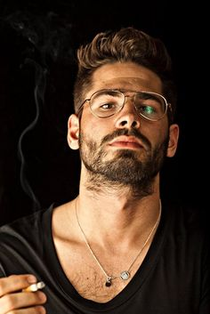 50 Best Choice Eyeglasses For Men Style is part of Mens glasses - If you need a Goggle cum Eyeglass, elect for photosensitive lenses Sunglasses and glasses arrive in quite a few popular […] Fashion Moda, Look Fashion, Mens Fashion, Fashion Edgy, Fashion Hats, Fashion Ideas, Fashion Outfits, Specs For Men, Short Brunette Hair