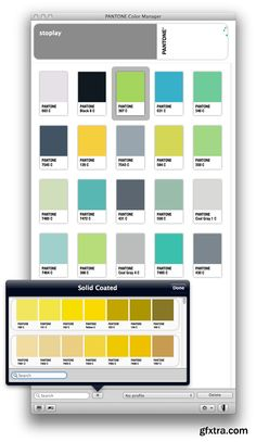 pantone color manager 210 macosx - Pantone Color Manager