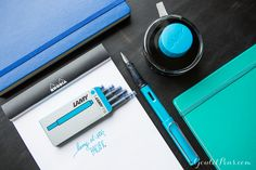 The Lamy Al-Star Pacific is the 2017 Special Edition color! Definitely one to add to any fountain pen collection.