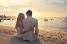 Madison & Dylan at Watson's Bay Sydney Wedding Images, Wedding Inspiration, White Dress, Romance, Wedding Photography, Couple Photos, Wedding Dresses, Bride Groom, Sydney