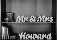 Personalized Mr & Mrs Sign - Personalized Wedding Present - Wedding Decoration - by the Owl and Otter on Etsy, $41.62 AUD