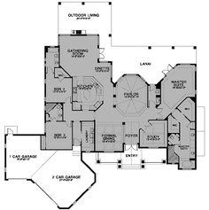 Build ideas on pinterest for Cracker house plans