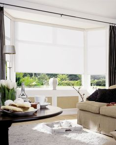 Plain White Roller Blinds £30.01