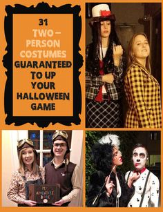 31 Two-Person Costumes Guaranteed To Up Your Halloween Game