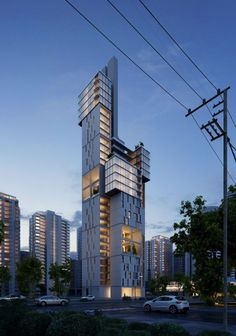 Residential Building by Kallas Naji