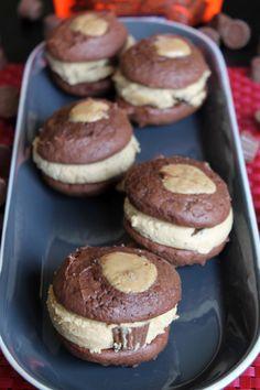REESE'S-Buckeye Whoopie Pies #snacktalk #Ad