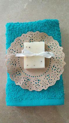 Toallita facial con jabón artesanal de anís 25g.
