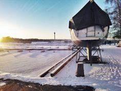 View to Lake Näsijärvi at Lapinniemi in Tampere, Finland. Winter 2014. Photo by Sari Mäkelä. www.tampereallbright.fi