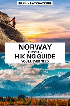 Are you planning a trip to Norway? Then hiking is probably on your itinerary. This is the only hiking guide you'll ever need! All you need to know about hiking in Norway including the 10 best hikes in Norway. #hiking #nature #responsibletourism #europe #scandinavia #brainybackpackers #outdoors #hikingtips #traveltips