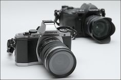 OM-D EM-5 + E-1 by Musreville, via Flickr