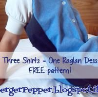 Raglan Shirt/Dress - via @Craftsy