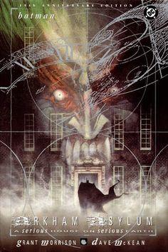 Arkham Asylum: ARKHAM ASYLUM - A Serious House on Serious Earth.