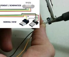 micro usb otg pinout how to make your own usb otg ttt DIY Resistor 100K OTG Cable DIY OTG Cable