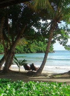 Mount Hartman Bay in Grenada, out in the middle of the Caribbean. Vacation Destinations, Dream Vacations, Vacation Spots, Beautiful Islands, Beautiful Beaches, Places To Travel, Places To See, Places Around The World, Around The Worlds
