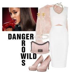 """Scream Queens Chanel #2 Style #ArianaGrande #ScreamQueens"" by xtina-bayb on Polyvore featuring Gucci, RED Valentino, BCBGMAXAZRIA, Carolee, Chanel, Blue Nile and Jonathan Simkhai"