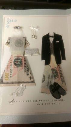 Wedding Gift Idea Oragami Money Dress Trousers