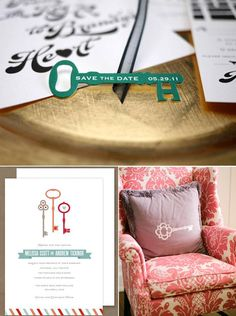 I have a key for this  deviskeys.com  Skeleton Key Wedding Inspiration Save the date