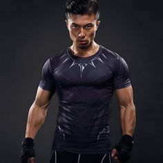 2017 New Fitness tights Compression Shirt Superhero 3D T Shirt Bodybuilding Crossfit  aports t shirt