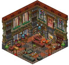 Mansion - Living room by Cutiezor.deviantart.com on @DeviantArt