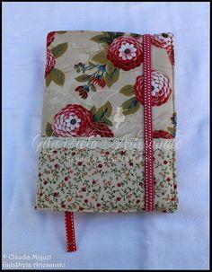 """Capa de agenda A5 """"Red Chrysanthemum"""""""