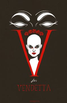 I wanted to revamp the V for Vendetta poster I made last year for my computer class at SVA and since it is near the 5th of November, why not!  I like the graphic novel but not as much as the movie and I feel bad for feeling this way. haha