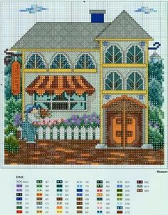 Houses.Casas.Villas.Maisons - LovingCrossStitch - Picasa Webalbums