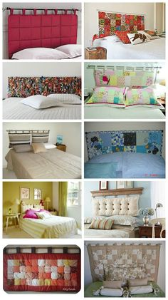 Taking Time To Create: Patchwork Headboard {Tutorial} Diy Tufted Headboard, Headboards For Beds, Headboard Ideas, Fabric Headboards, Home Bedroom, Diy Bedroom Decor, Home Decor, Bedrooms, Furniture Makeover