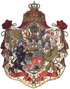 Per aspera ad astra o in latino Per spera sic itur ad astra forse di Cicerone  attraverso le asperita' sino alle stelle ...stemma del Granducato di Meclemburgo _Schwerin