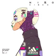 metropoworld: astromech-punk: Cybergothic Nion... - Olivia Black
