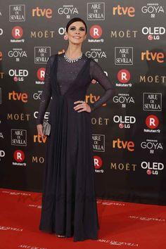 La alfombra roja de los Premios Goya 2018 Maribel Verdú de Dior