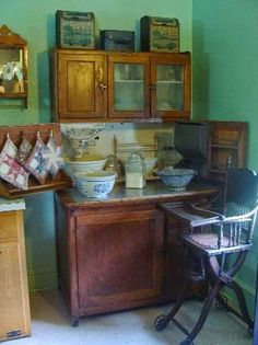 The Amish Kitchen, Strasburg Wabi Sabi, Amish Pie, Amish Village, Lancaster County Pennsylvania, Amish House, Amish Culture, Hoosier Cabinet, Amish Community, Pie Safe