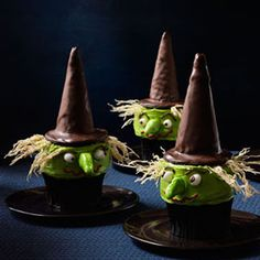 Witch Cupcakes #halloween